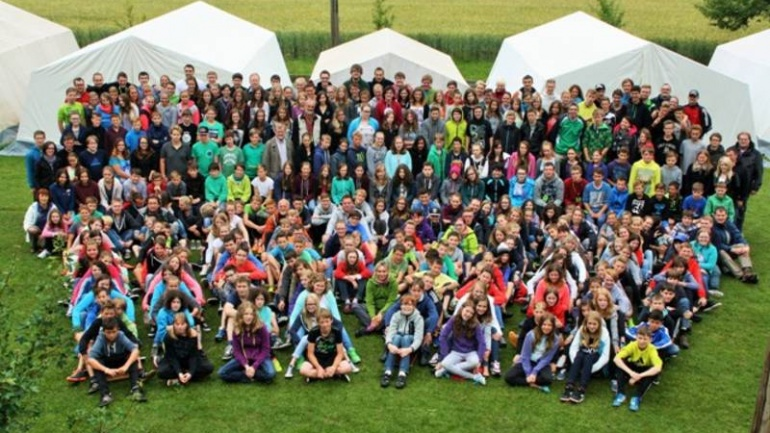 KonfiCamp 2014 – ein spektakuläres Wochenende für die Konfirmanden aus dem Kirchenbezirk Nürtingen
