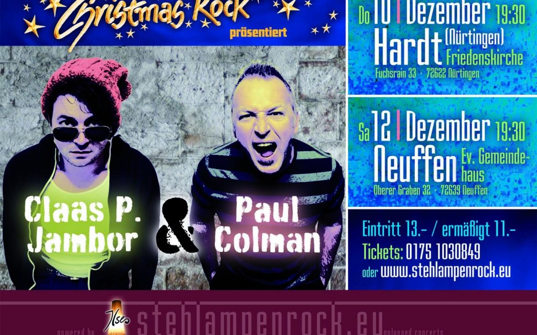 2 Konzertabende mit Claas P. Jambor & Paul Colman