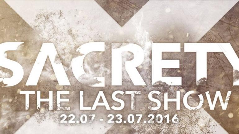 Vorverkauf im ejbn: Sacrety – the last Show