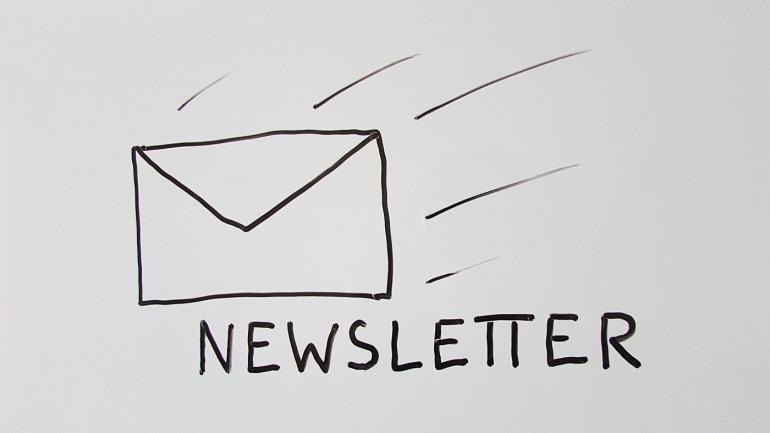 Up to date mit dem Newsletter