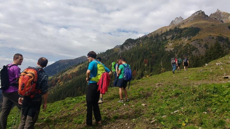 Es geht bergauf mit der Integration – Gipfelstürmer- und Berggenießerfreizeit
