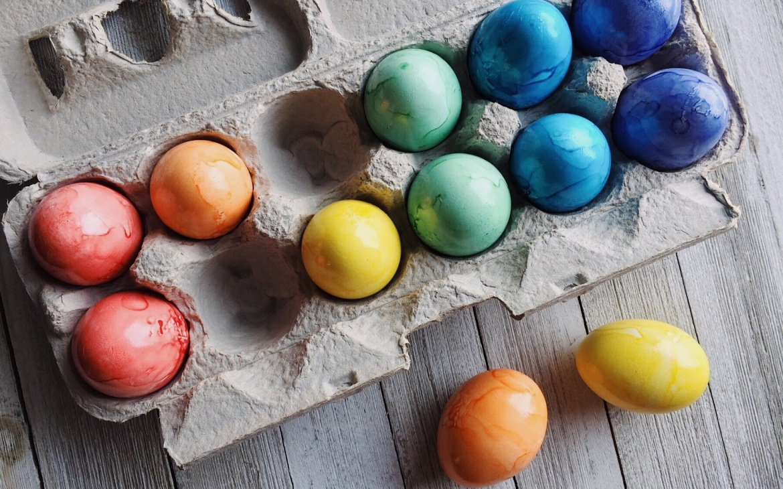 Ostern bringt Farbe in die Seele